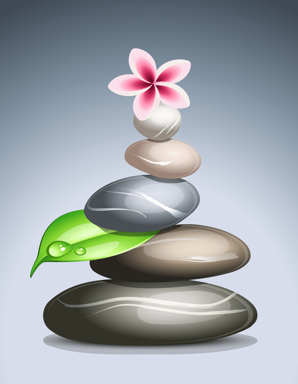 Curso masaje con piedras calientes o Hot stones