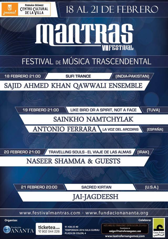 Festival Mantras 2016 – Festival de Música Trascendental