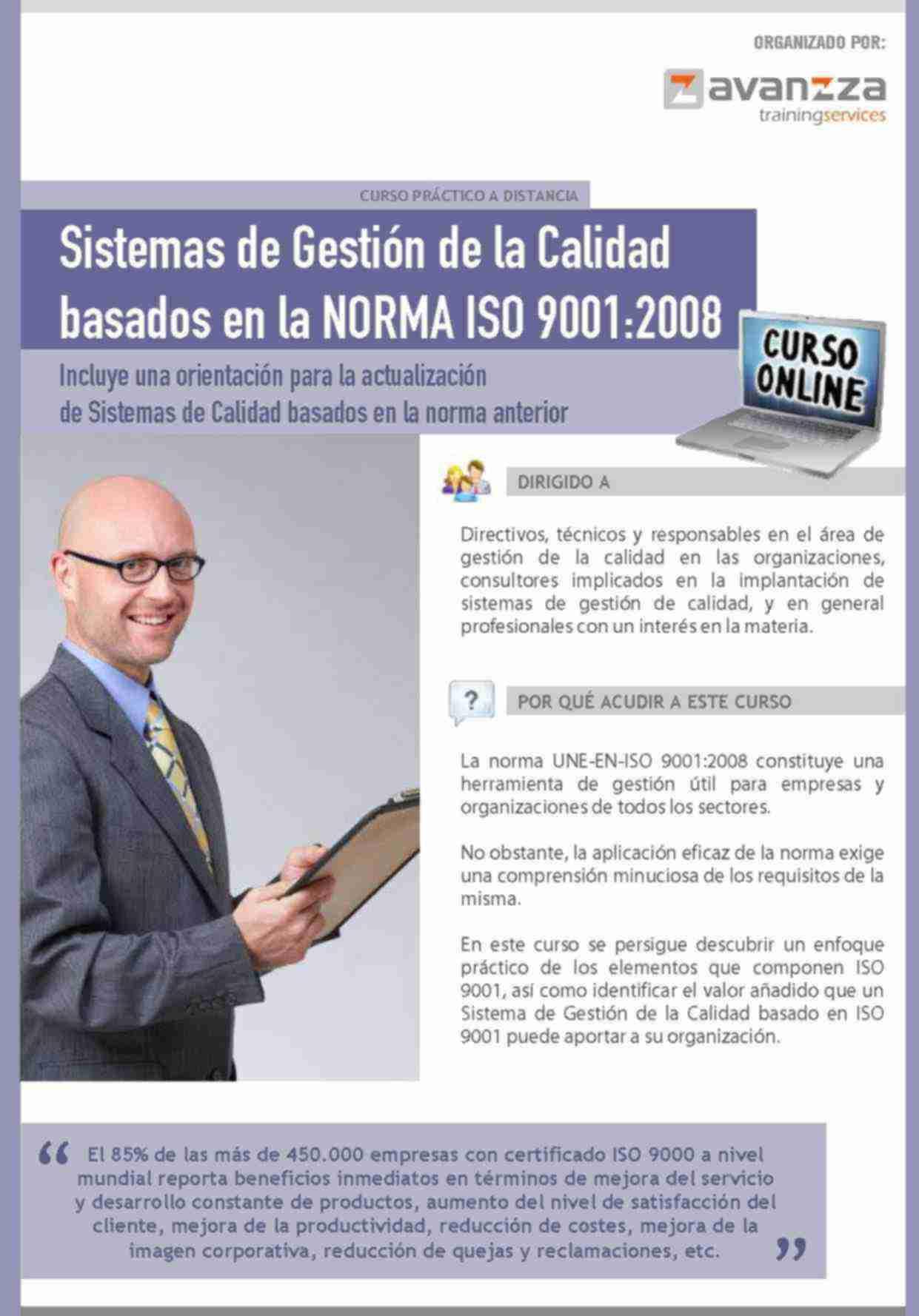 Sistemas de Gestión de la Calidad basados en la Norma ISO 9001:2008