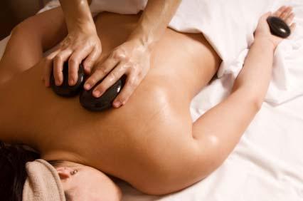 Taller masaje con Piedras volcánicas