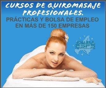 cursos de masaje profesionales quiromasaje